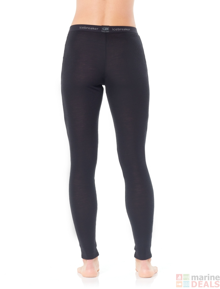 2bea48abcbb Buy Icebreaker Womens Merino 175 Everyday Leggings Black online at ...