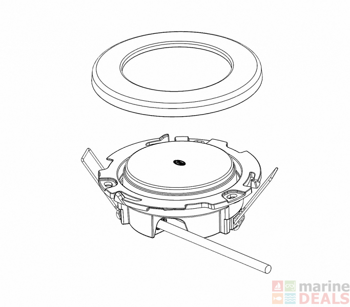 Buy Hella Marine Euroled 95 Downlights With Spring Clips Online At