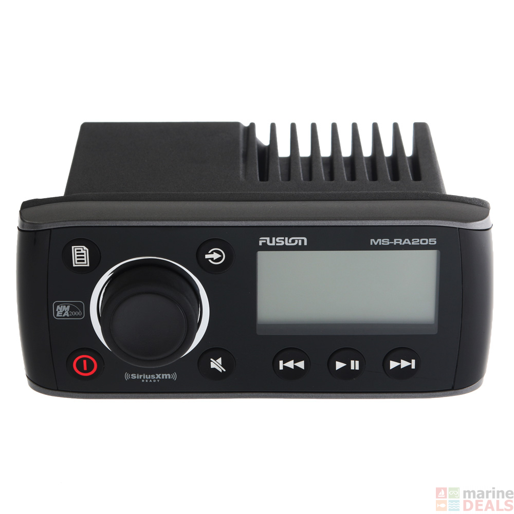 Buy Fusion MS-RA205 True Marine Stereo with USB and VHF