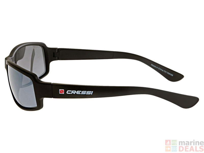 Buy Cressi Ninja Floating Sunglasses with Mirrored Lens Black online ... 806f313b3e9