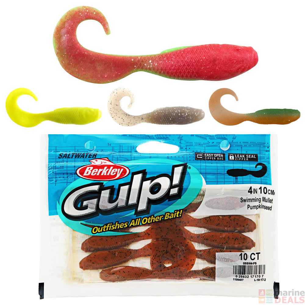 Berkley Gulp Swimming Mullet Soft Bait 10cm