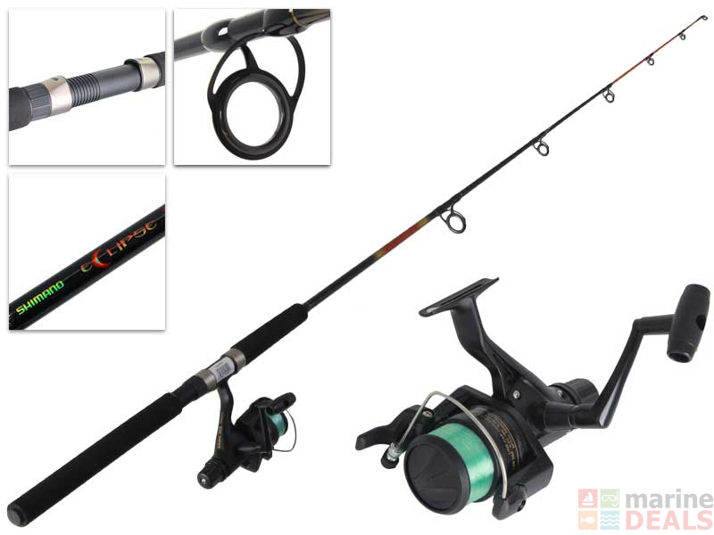 237f4c4b3d7 Buy Shimano IX 4000 and Eclipse Spinning Rod and Reel Combo 4-8kg ...