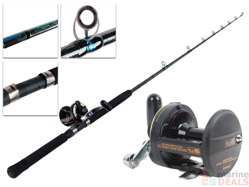 f711f0c01f9 Buy Shimano TLD 15 and Aquatip Boat Combo 6ft 15kg 1pc online at ...