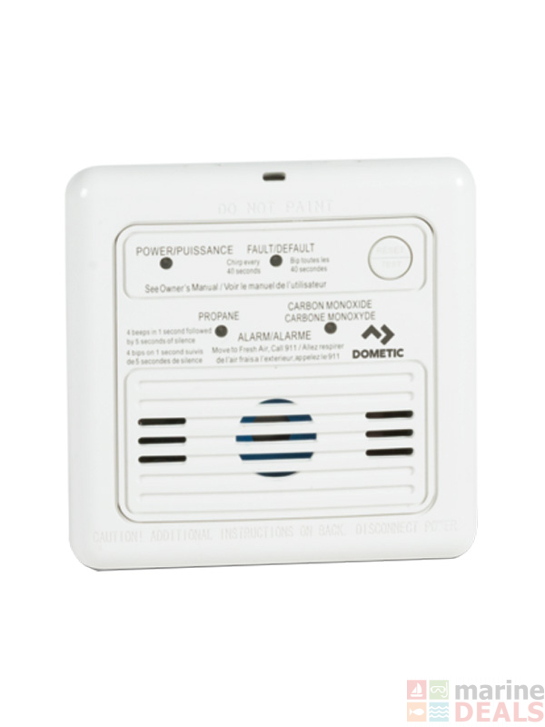 Buy Dometic Dual Lp Co Gas Detector 12v Online At Marine