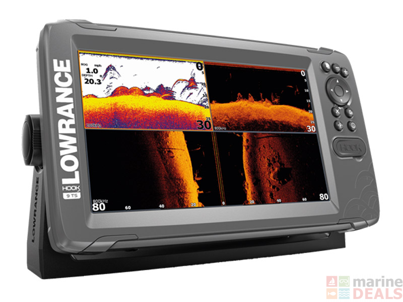 Lowrance HOOK2-9 CHIRP GPS/Fishfinder TripleShot Package
