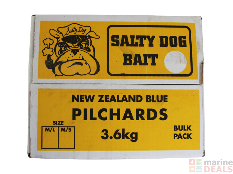 Buy Salty Dog New Zealand Pilchards Regular Size online at Marine