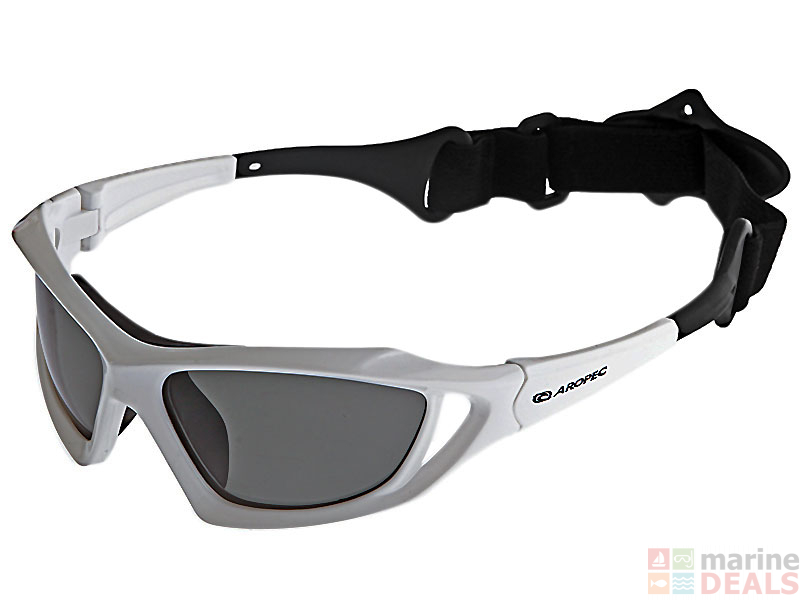 a0a578b5fb Buy Aropec Seagull Polarised Floating Sunglasses White online at ...
