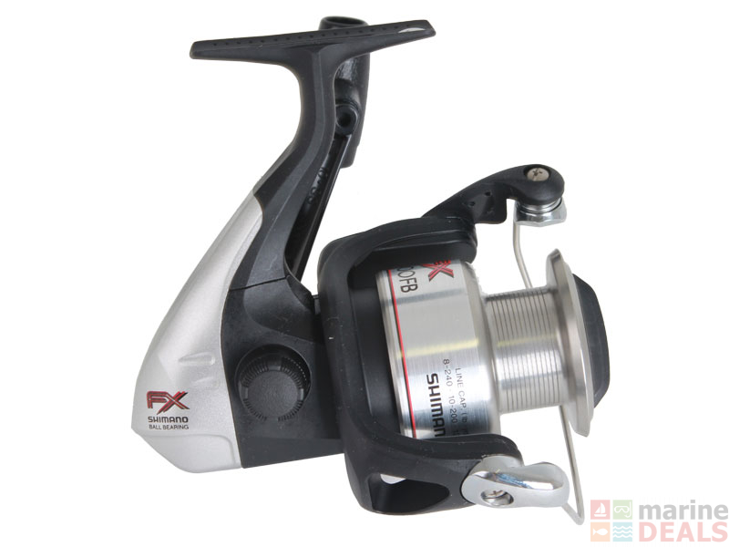Buy Shimano FX 4000 FB Spinning Reel online at Marine-Deals co nz