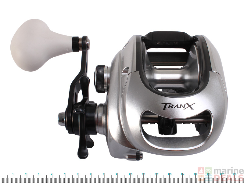 7a5a2e0695f Buy Shimano Tranx 500 PG Overhead Reel online at Marine-Deals.co.nz