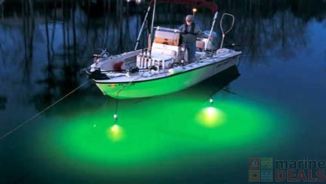 Buy portable underwater led fishing light with 5m cable for Submersible fishing light