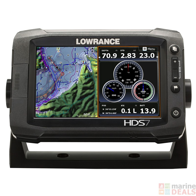 how to set up lowrance hds 7