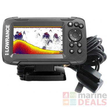 Lowrance HOOK2 4x Fishfinder with Bullet Transducer