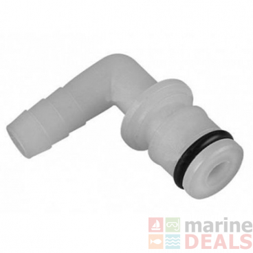 Seaflo 35F03 HB Elbow Fitting w/ O-Ring Pump Connector 5/8 x 3/8in