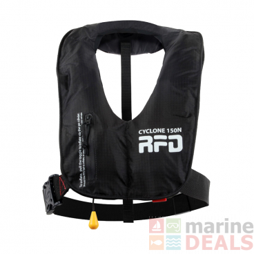 RFD Cyclone Inflatable Adult Life Jacket 150N