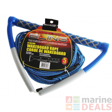 Airhead Bling Spectra 4 Section Wakeboard Rope