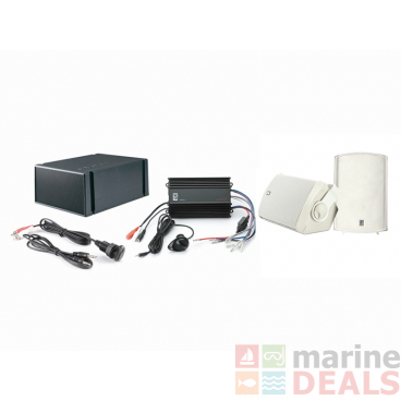 Poly-planar MP3-Kit-7 ME60 Amp with MA7500 Speakers and MS55 Subwoofer