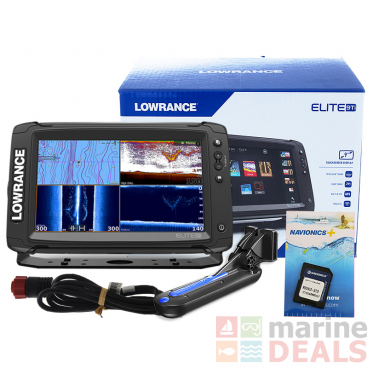 Lowrance Elite-9 Ti GPS/Fishfinder Navionics NZ/AU TotalScan Package