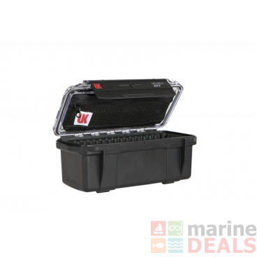 Underwater Kinetics 307 Weatherproof UltraBox Clear/Black with Lid Pouch and Padded Liner