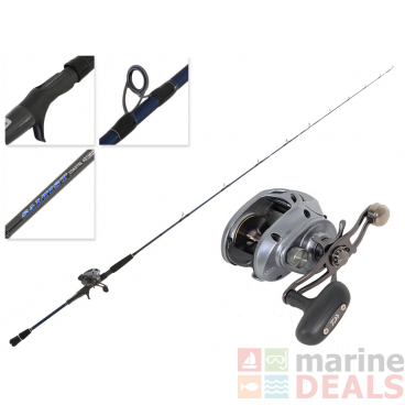 Daiwa Lexa 300 HS-P and Saltist Coastal SAC 601MHB-BJ Slow Jig Combo 6ft PE1-3 1pc