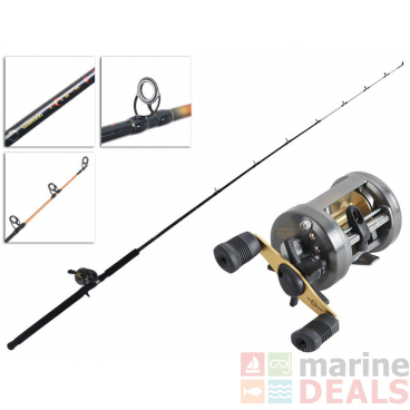 Shimano Corvalus 400 and Eclipse Baitcaster Light Boat Combo 6ft 4-8kg 1pc