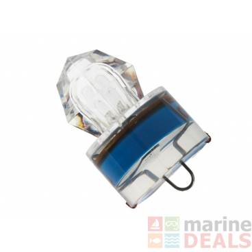 Underwater Diamond LED Strobe Light Blue