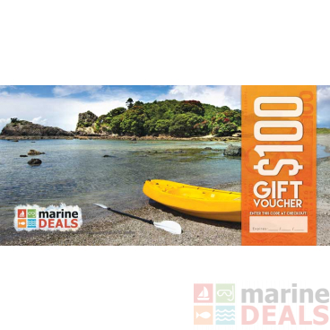 Marine Deals $100 Gift Voucher with Sleeve - Mission Accomplished