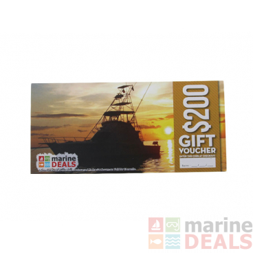 Marine Deals $200 Gift Voucher with Sleeve - Bringing Home the Bacon