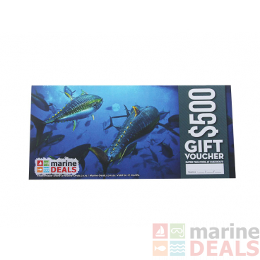 Marine Deals $500 Gift Voucher with Sleeve - Feeding Frenzy