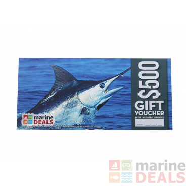 Marine Deals $500 Gift Voucher with Sleeve - That's a Keeper