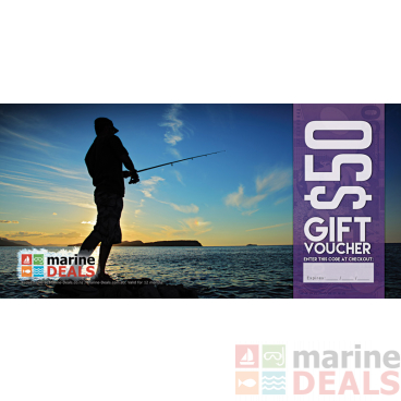 Marine Deals $50 Gift Voucher with Sleeve - Rock Fishing