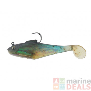 Berkley Powerbait Pogy Soft Bait 4in Sardine
