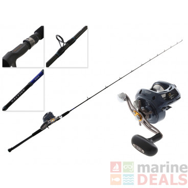 Daiwa Lexa CC300PWR with Clicker and Blue Backer LJ 602MHB Trigger Slow Jig Combo 6ft PE1-3 2pc