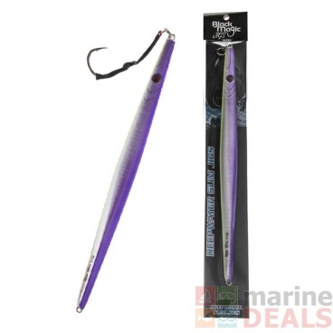 Black Magic Deepwater Slim Jig Purple Predator 400g