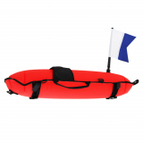 Immersed Spearfishing Inflatable Float with Flag 30L