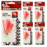 Berkley Essentials Sabiki Multi Rig 5 Pack
