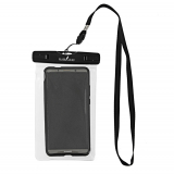 Black Shag Waterproof Phone Bag