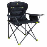 Coleman Wing Quad Chair with Built in Cooler Black