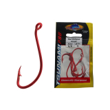 Tsunami Chemically Sharpened Red Octopus Hooks 6/0 Qty 5