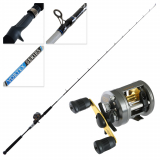 Shimano Corvalus 300 Vortex Baitcast Slow Jig Combo 6ft 6in 6-10kg 1pc