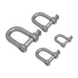 Trojan Galvanised D-Shackle