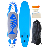 AquaWarrior Deluxe Inflatable Paddleboard 10ft 6in