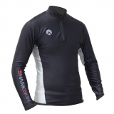 Sharkskin Mens Chillproof with Chest Zip Long Sleeve Rash Top