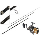 Daiwa Crosscast 6000 and Laguna X Surf 1503HFS Surfcasting Combo 15ft 10-15kg 3pc