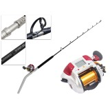 Shimano 4000 Plays and Status Bent Butt Electric Deep Sea Combo 5ft 10in PE3-5 2pc