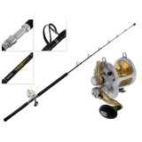 Shimano Talica 25 and Tiagra 2-Speed Stand Up Game Combo 5ft 8in 1pc