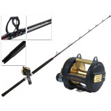 Shimano Triton Lever Drag TLD-30 2-Speed and Backbone Elite Game Combo 5ft 7in 24kg 1pc