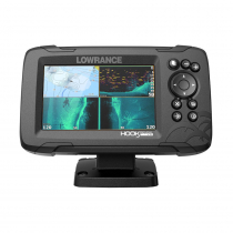 Lowrance HOOK Reveal 5 GPS/Fishfinder NZ/AU with 50/200 HDI Transducer