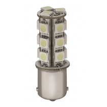18 LED Bayonet Bulb Double Contact Parallel Pins 12v