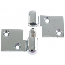 Perko Chrome Pull Apart Hinge Left Hand - Pair