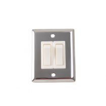 Stainless Steel Wall Switch 2 Way